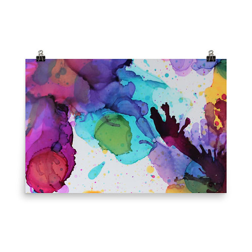Abstract - Photo Paper Poster