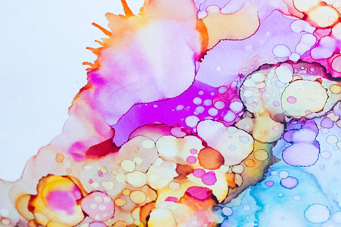 Abstraction Explosion - Digital Print