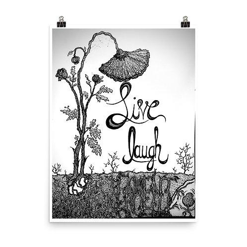 LiveLaughLament - Poster