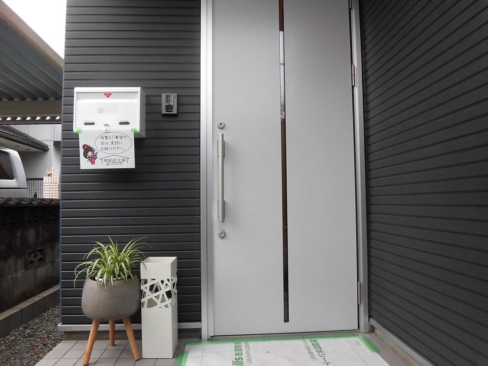 都城市 新築住宅 MIRAI工房 玄関