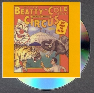 "Clyde Beatty-Cole Bros. Circus ""Live"" under the Big Top, 1973"