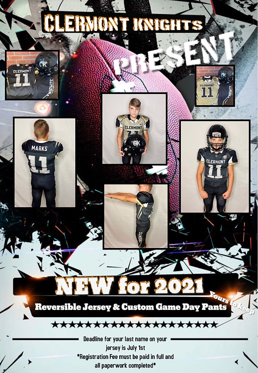New Uniforms