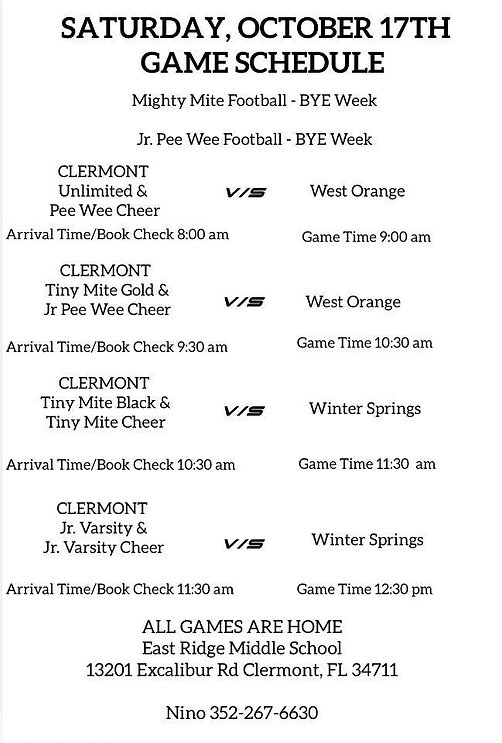Game Times