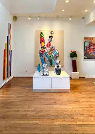 Installation view of 'New Conversations'