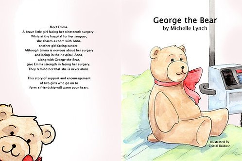George the Bear by Michelle Lynch