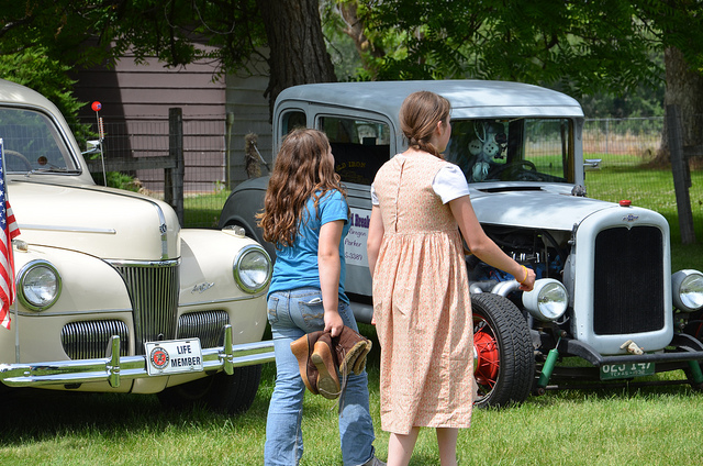 Antique Cars at Eagle Valley Days