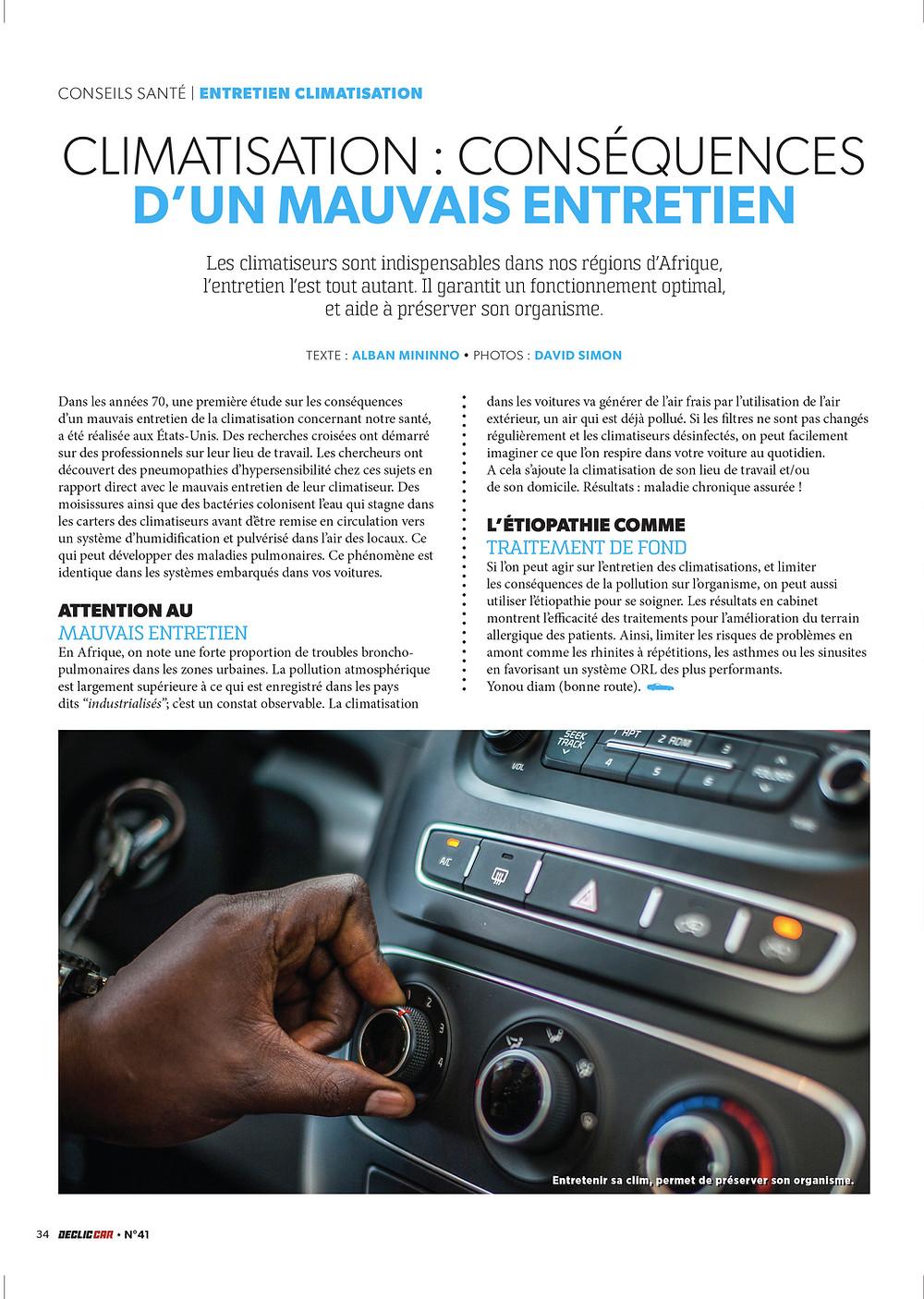 Etiopathie Dakar - Declic Car