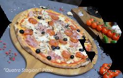 quatro stagioni pizza