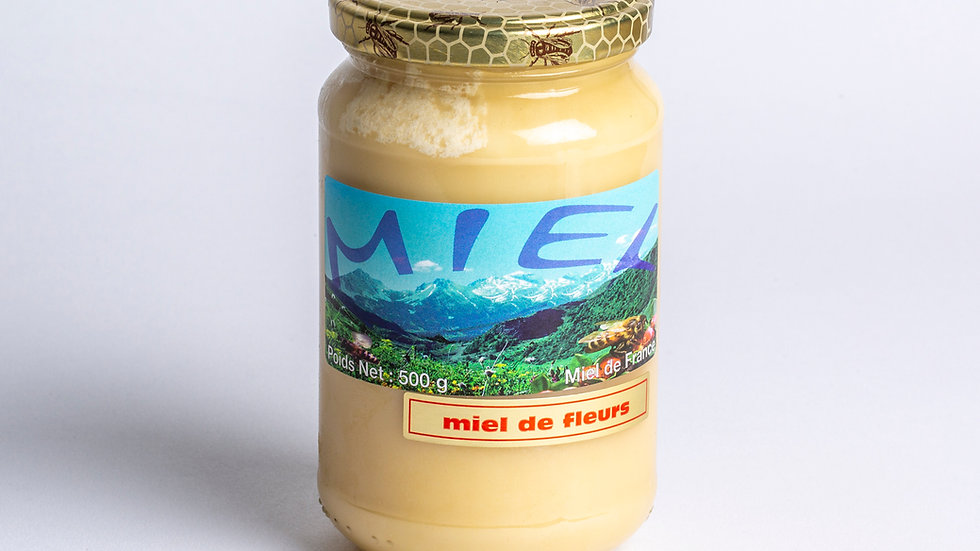 Miel de fleur 500 g