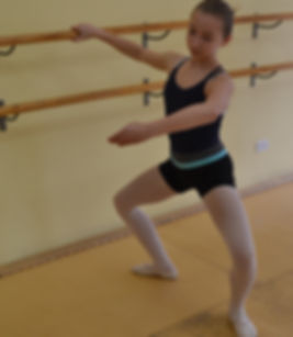 Advanced ballet dancer