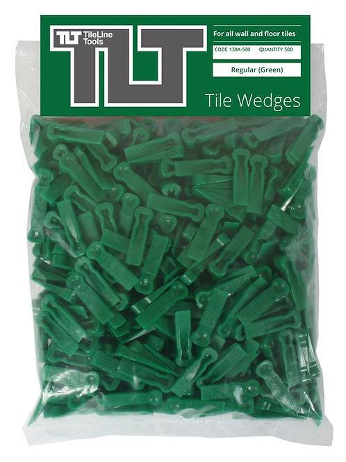 Regular Tile Wedges (Green)