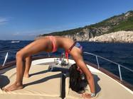 full wheel pose hatha yoga in style