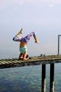 yoga pose in lutry switzerland