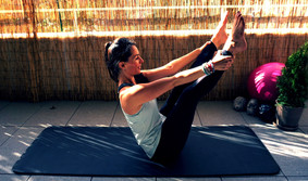 Pilates pose of the day