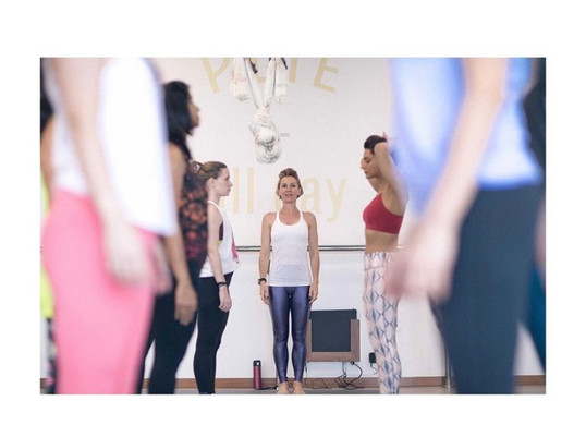 pilates group class