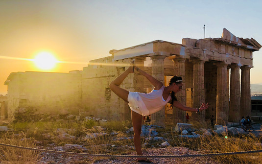 yoga in athens
