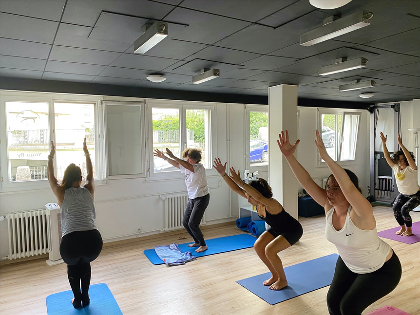yoga class lausanne