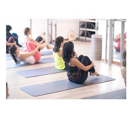 BASI pilates mat class