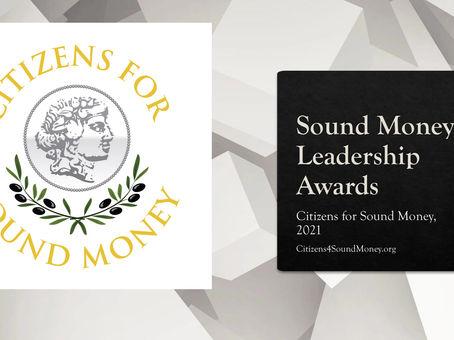 Sound Money Leadership Award Winners 2021