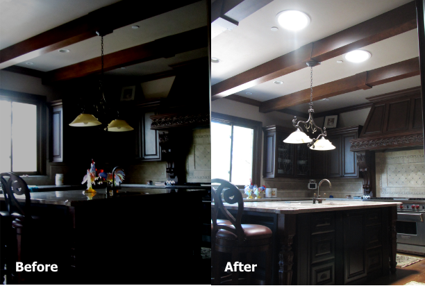 Before and After in your kitchen.