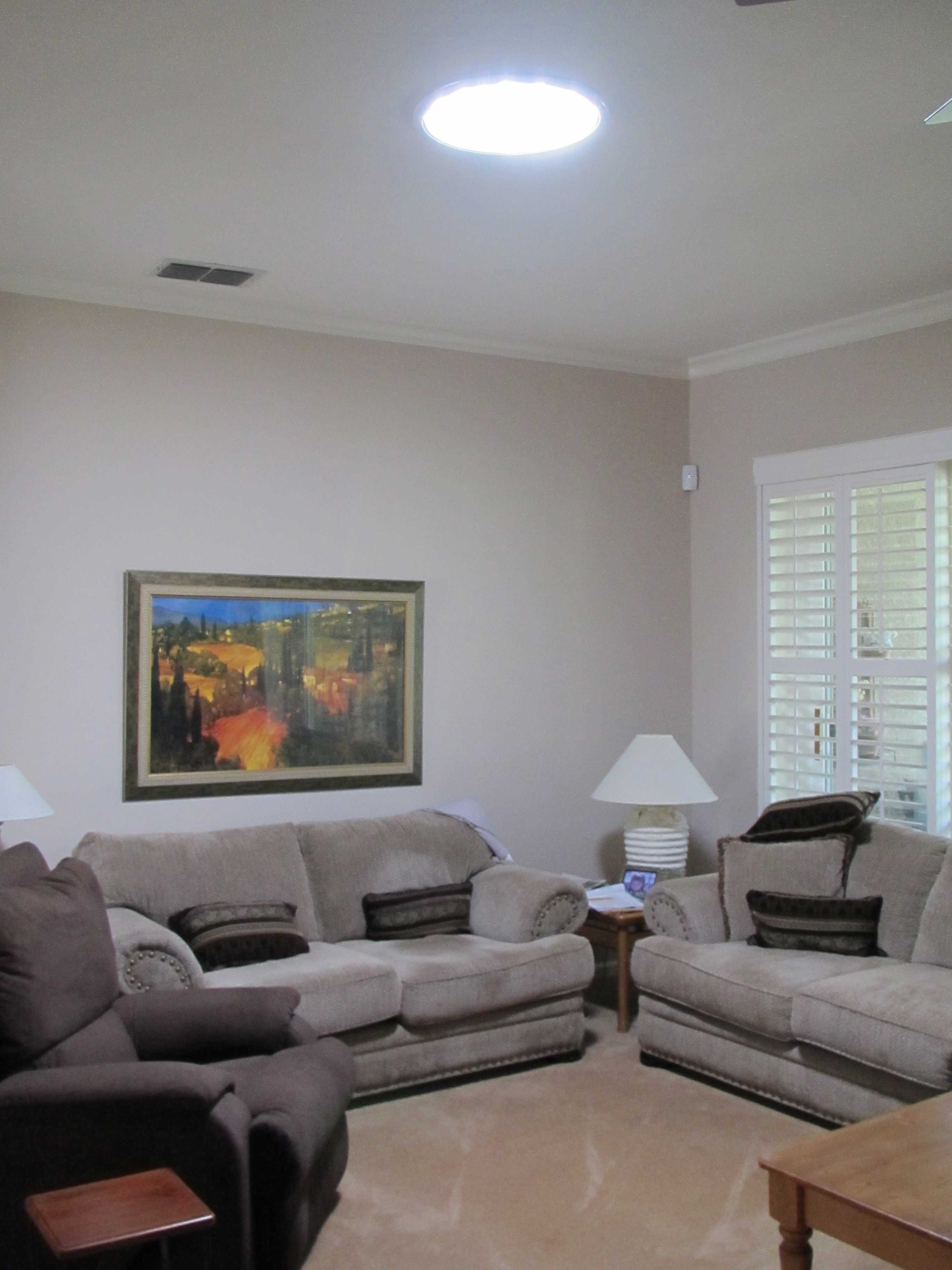 Sun Glo in your family room