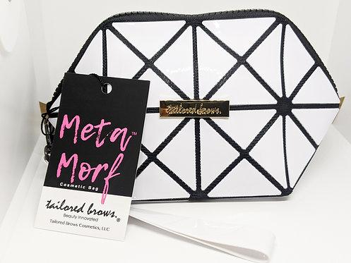 META MORF | White Mini Cosmetic Bag