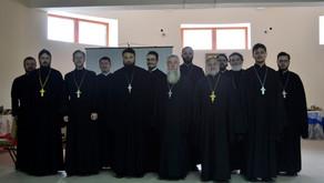 Рабочее собрание духовенства Центрального благочиния и помощников благочинного и настоятелей.