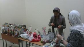 Покупка и упаковка подарков для подопечных социальных учреждений