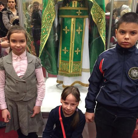 Воспитанники воскресной школы Вознесенского храма посетили выставку «Дон Православный»