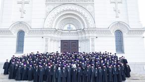 Общее говение духовенства Ростовской-на-Дону епархии в Патриаршем Вознесенском войсковом соборе Ново
