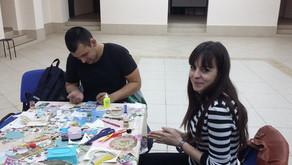 Состоялся очередной благотворительный мастер-класс по изготовлению пасхальных сувениров