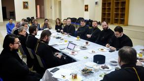 Состоялось рабочее собрание духовенства и сотрудников Центрального благочиния