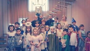 Рождественский утренник в воскресной школе храма Вознесения Господня