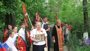 Клирик Вознесенского храма г. Ростова-на-Дону принял участие в акции памяти о погибших в годы Велико