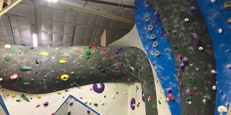 March Happy Hour Rock Climbing Gym