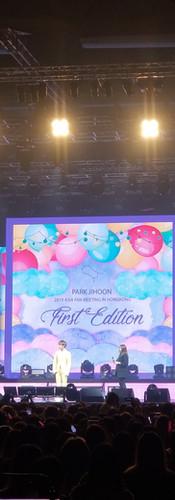 """朴志訓 """"First Edition"""" 亞洲巡迴見面會2019香港站 - Hall 11, Asia World Expo"""