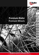 Premium wheels and spoke wheels
