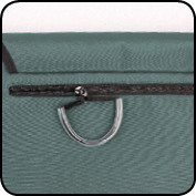 Wheelchair Bag zipper with handle loops