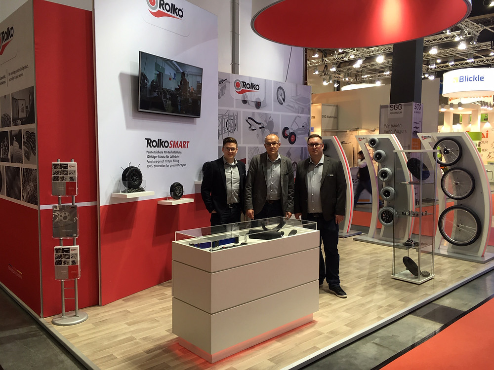 Our booth at the LogiMAT