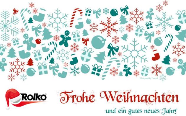 Frohe Weihnachten Guten Rutsch Ins Neue Jahr.Frohe Weihnachten Und Einen Guten Rutsch Ins Neue Jahr Rolko