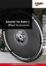 Wheel accessories, spoke guards, wheel guards, ball bearings, axles and bushes