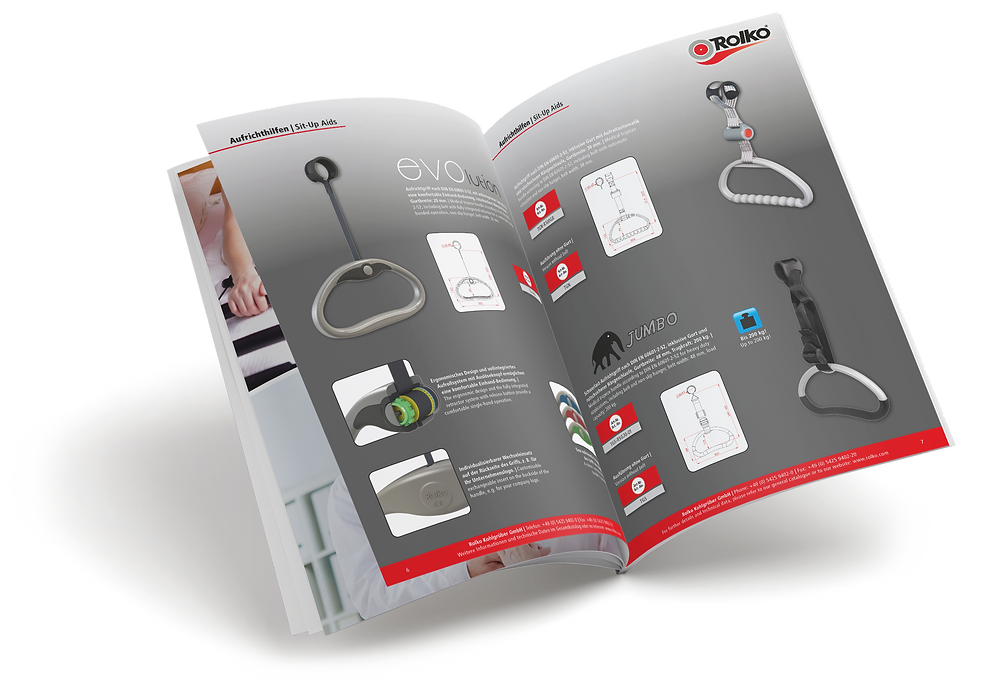 Katalog Medizintechnik und Bettenzubehör