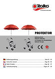 Manual for PROTEKTOR - our umbrella for walkers / rollators