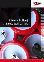 Stainless steel castors