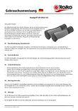 Bedienungsanleitung zu unserem ergonomischen Handgriff für Rollstühle und Rollatoren