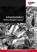 Heavy weight castors