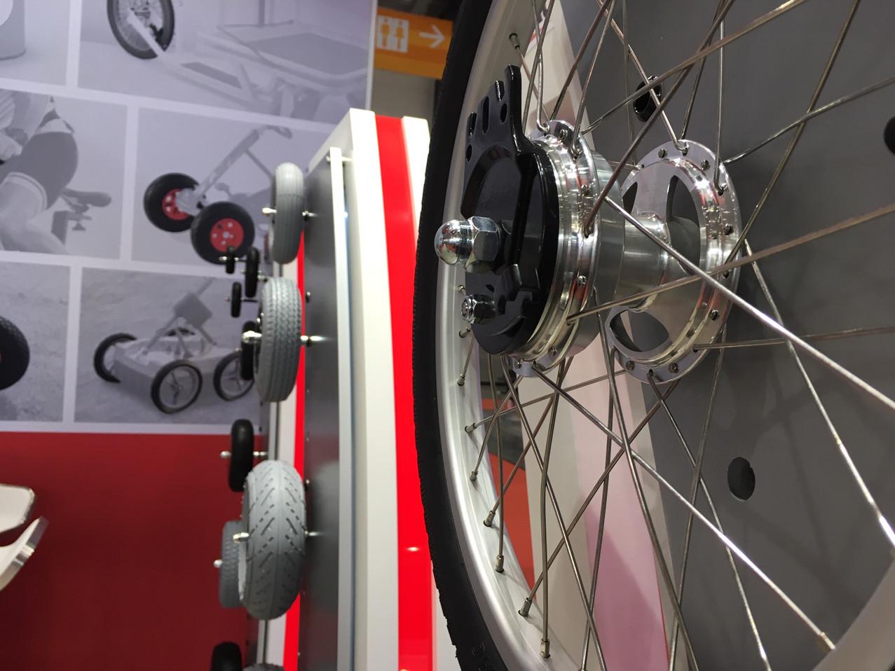 LogiMAT: spoke wheels