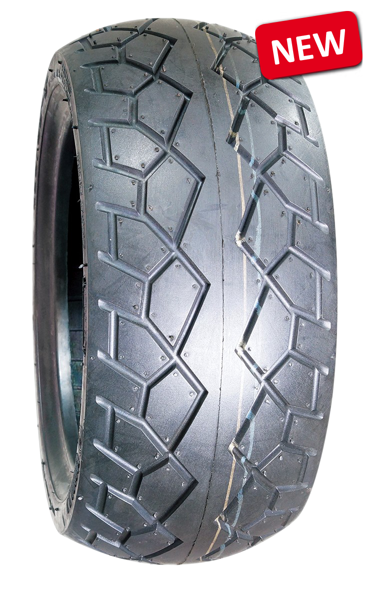 Tyre for mobility scooter