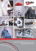 Katalog mit Freiverkaufsartikel für den Außendienst vom Reha- und Sanitätsfachnande