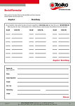 Order / enquiry formular for industry and trade customers